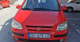 Hyundai Getz crveni 5  vrata,2004 g.Reg 10 mj