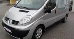 Renault Trafic 2,0 dcI,2x klima,2x airbag,8+1,reg.02/18,MODEL 2010