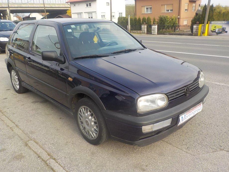 VW Golf III 1,9 TDI,klima,MODEL 1997**KARTICE**RATE**