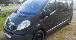 Renault Trafic 2,0 DCI,8+1,2x klima,airbag,dugi,MODEL 2010**KARTICE