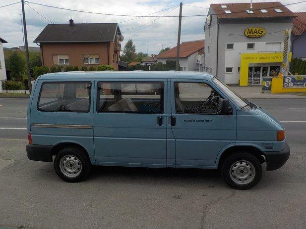 VW Transporter 2,4D, 8+1,MODEL 1999**KARTICE**RATE**