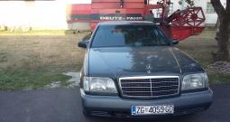 Mercedes S-klasa, benzin