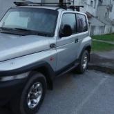 SsangYong Korando 2.8 D, s Mercedes orginalnim motorom