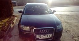 Audi A3, registriran