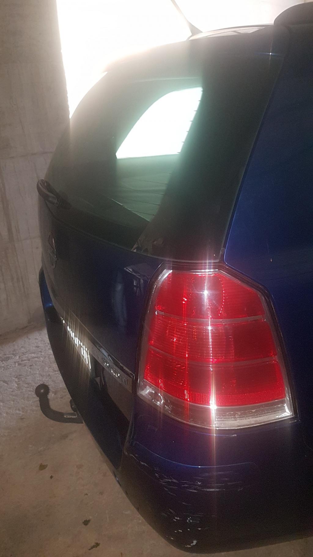 Opel Zafira 1.9, registriran