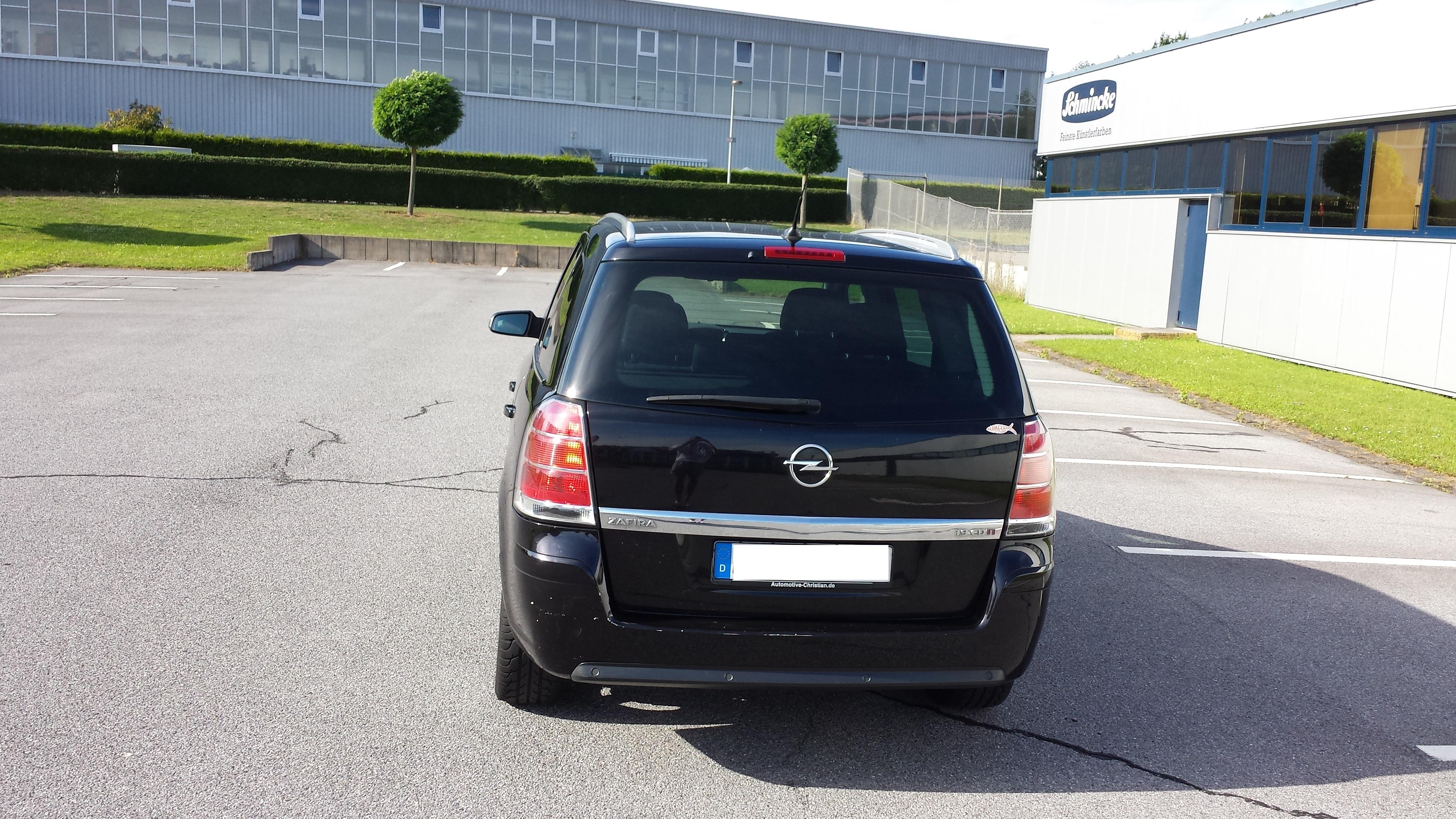 Opel Zafira 1.9 CDTI Sport, full oprema