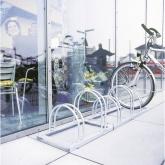Stalak za bicikle 2 mjesta 2-strani Moravia 169.13.535 čelik, cink-sive boje