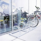 Stalak za bicikle 6 mjesta 2-strani Moravia 169.15.566 čelik, cink-sive boje