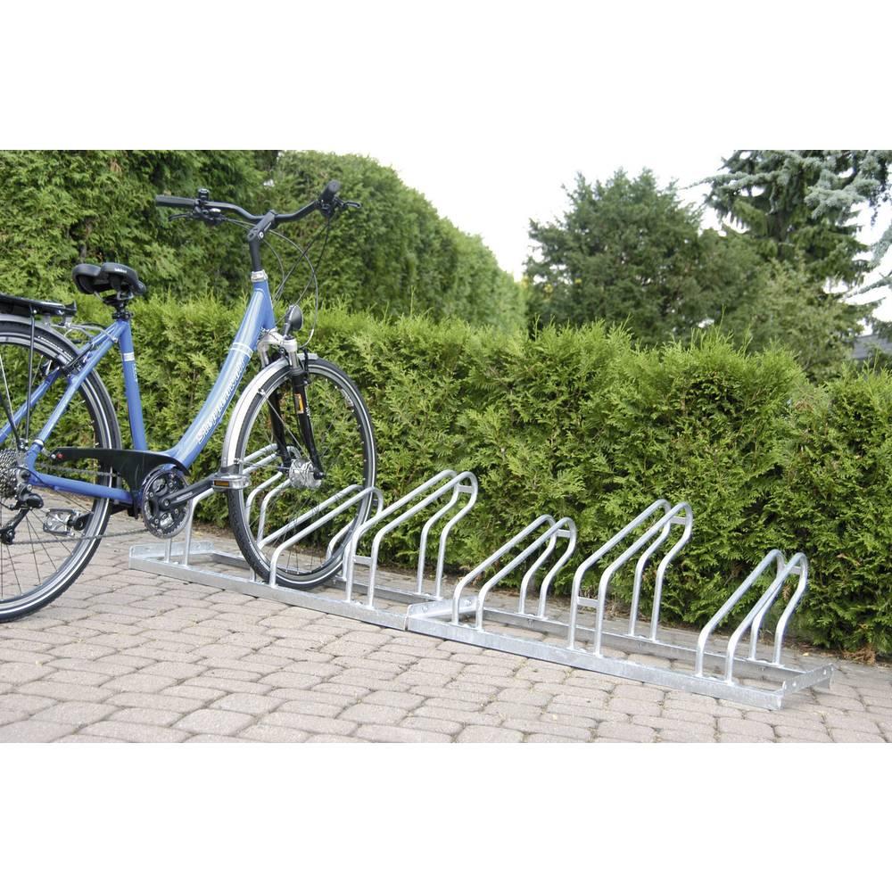 Stalak za bicikle 6 mjesta 1-strani Moravia 169.13.416 čelik, cink-sive boje