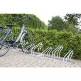 Stalak za bicikle 4 mjesta 1-strani Moravia 169.14.842 čelik, cink-sive boje