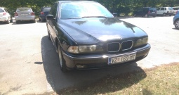 BMW E39 520 2.0, registriran
