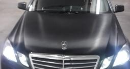Mercedes E 220 CDI automatic, zamjena za manje vozilo