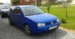 VW Golf IV, 1.9, TDi Edition, registriran