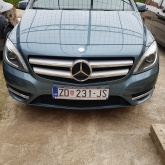 Mercedes b klasa,novi model sa led diodama