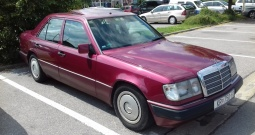 Mercedes 124 200e s atestiranim plinom do 2023 g.