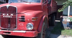 Kamion Man diesel 9186, kiper, oldtimer