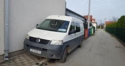 VW transporter benzin+plin